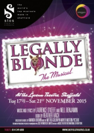 Legally Blonde artwork